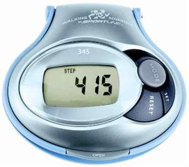 Sportline Electronic Calorie Pedometer 345